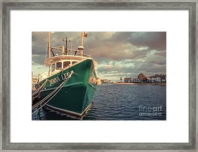 Hyannis Harbor Cape Cod Massachusetts Framed Print