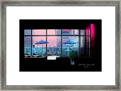 Hyatt 54 New York City Framed Print by Diana Angstadt