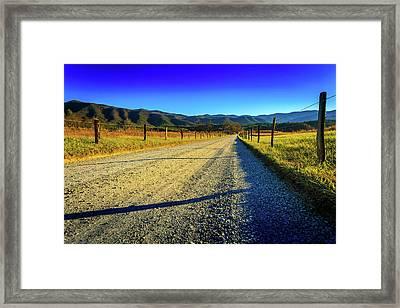 Framed Print featuring the photograph Hyatt Lane by Doug Camara