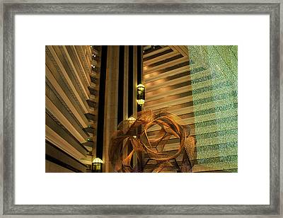 Hyatt Regency Sf Atrium Framed Print