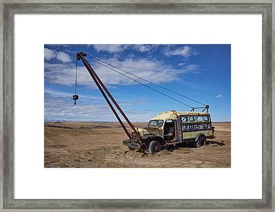 Hybrid Vehicle Framed Print by Trever Miller