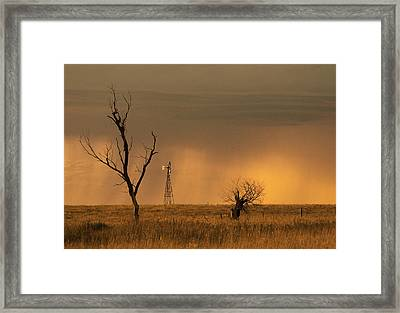 Hyde County Framed Print by Don Durfee