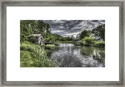 Hyde's Mill Framed Print