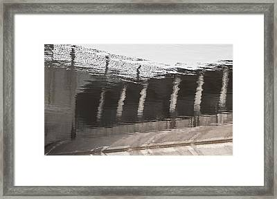 Hydro Dam Number One Framed Print by Michael Rutland