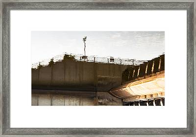 Hydro Dam Number Two Framed Print by Michael Rutland