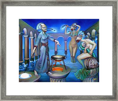 Hydromeda's Kitchen Framed Print by Patrick Anthony Pierson