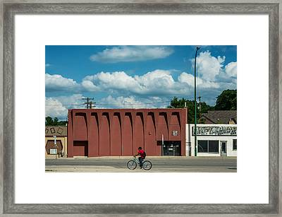 Hyland Theatre Framed Print by Bryan Scott
