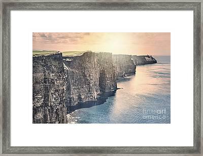 Hymn Of The Cliffs Framed Print