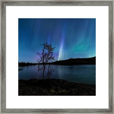 Hymn Of The Night Framed Print by Tor-Ivar Naess