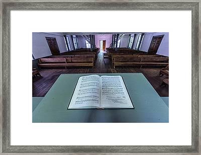 Hymn Sing Framed Print