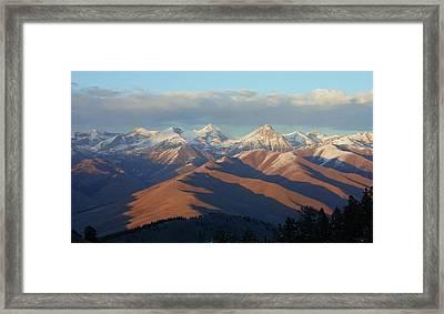 Hyndman And Cobb Framed Print