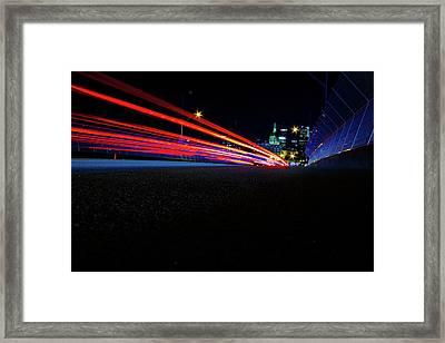 Hyper Drive Framed Print