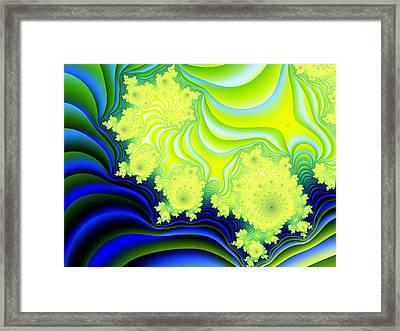 Hyper Framed Print by Lauren Goia