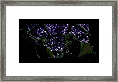 Hyper Space Framed Print