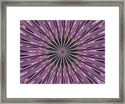 Framed Print featuring the photograph Hypnosis 4 by David Dunham