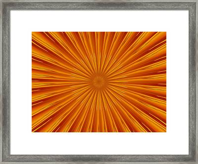 Framed Print featuring the photograph Hypnosis 5 by David Dunham