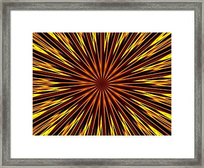 Framed Print featuring the photograph Hypnosis 6 by David Dunham
