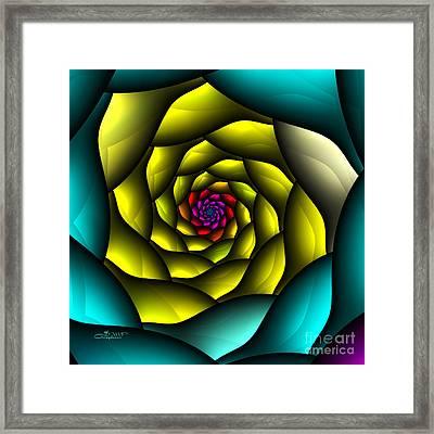 Hypnosis Framed Print by Jutta Maria Pusl