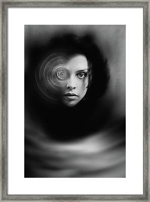 Hypnosis   Framed Print by Mayumi Yoshimaru