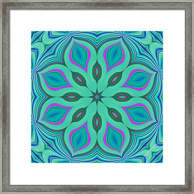 Hypnotherapy 2231k8 Framed Print by Brian Gryphon