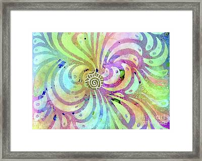 Hypnotic Framed Print by Desiree Paquette