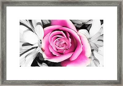 Hypnotic Pink 2 Framed Print