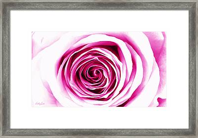 Hypnotic Pink Framed Print