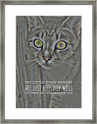 Hypnotize Quote Framed Print by JAMART Photography