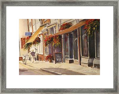 Framed Print featuring the painting Hythe High Street by Beatrice Cloake