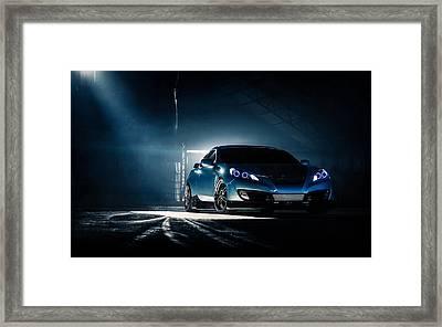 Hyundai Genesis Coupe Framed Print
