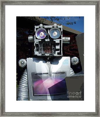 I - Robot Framed Print by Bill Thomson