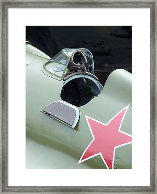 I-16 Rata Cockpit Door Framed Print by Gene Ritchhart