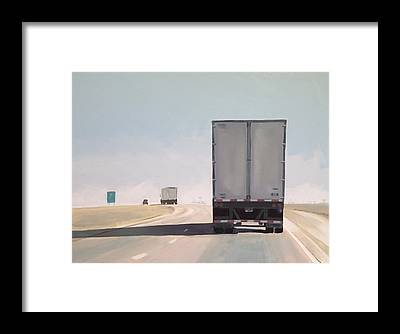 Highway Framed Prints