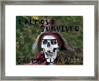 I Almost Survived Framed Print by David Lee Thompson
