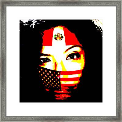 I Am An Immigrant Framed Print