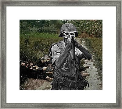 I Am Become Death Framed Print