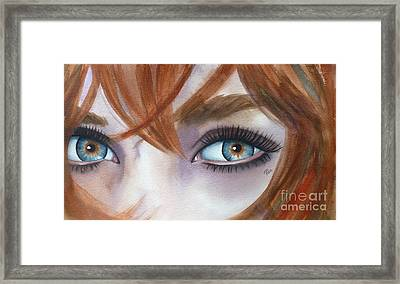 I Am Enough Framed Print