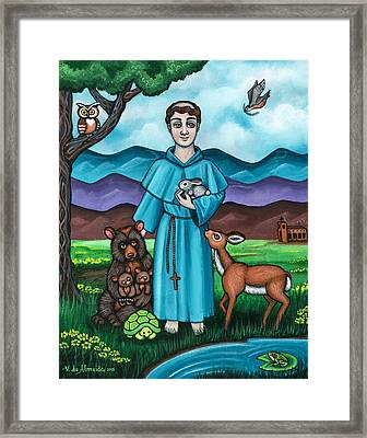 I Am Francis Framed Print