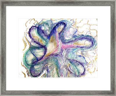 I Am God Framed Print by Erika Brown
