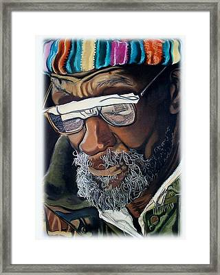 I Am Going To Be Somebody Framed Print by Michael Mahue Moore
