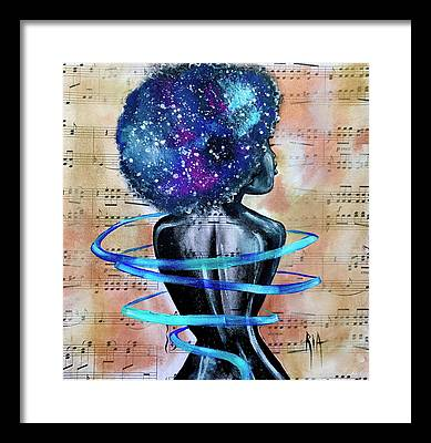 Space Framed Prints