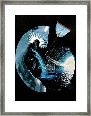 I Am Here Framed Print by Michele Myers