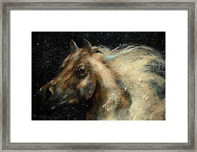I Am In The Stars And In Your Heart Framed Print