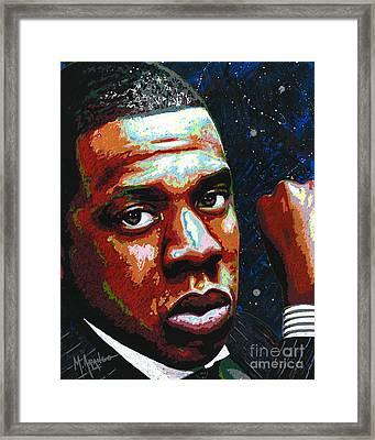 I Am Jay Z Framed Print