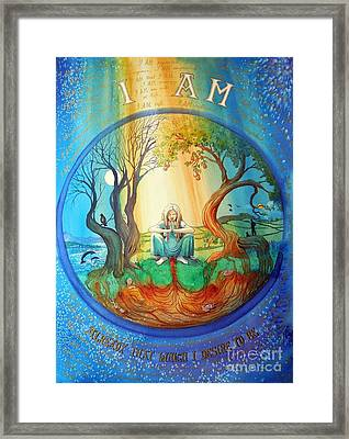 I Am Framed Print by Joan Doyle