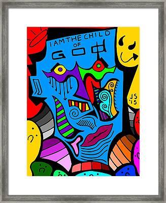 I Am Framed Print by John Suh