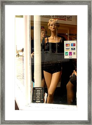 I Am Just A Credit Card Away That Is My Life Framed Print by Jez C Self