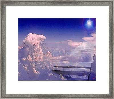 I Am Framed Print by Ken Walker