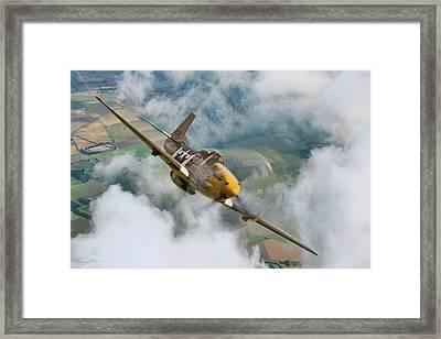 I Am Legend P-51 Framed Print