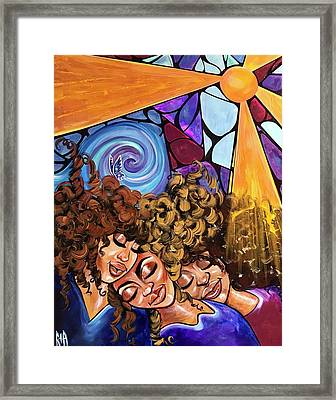 I Am My Sisters Keeper Framed Print